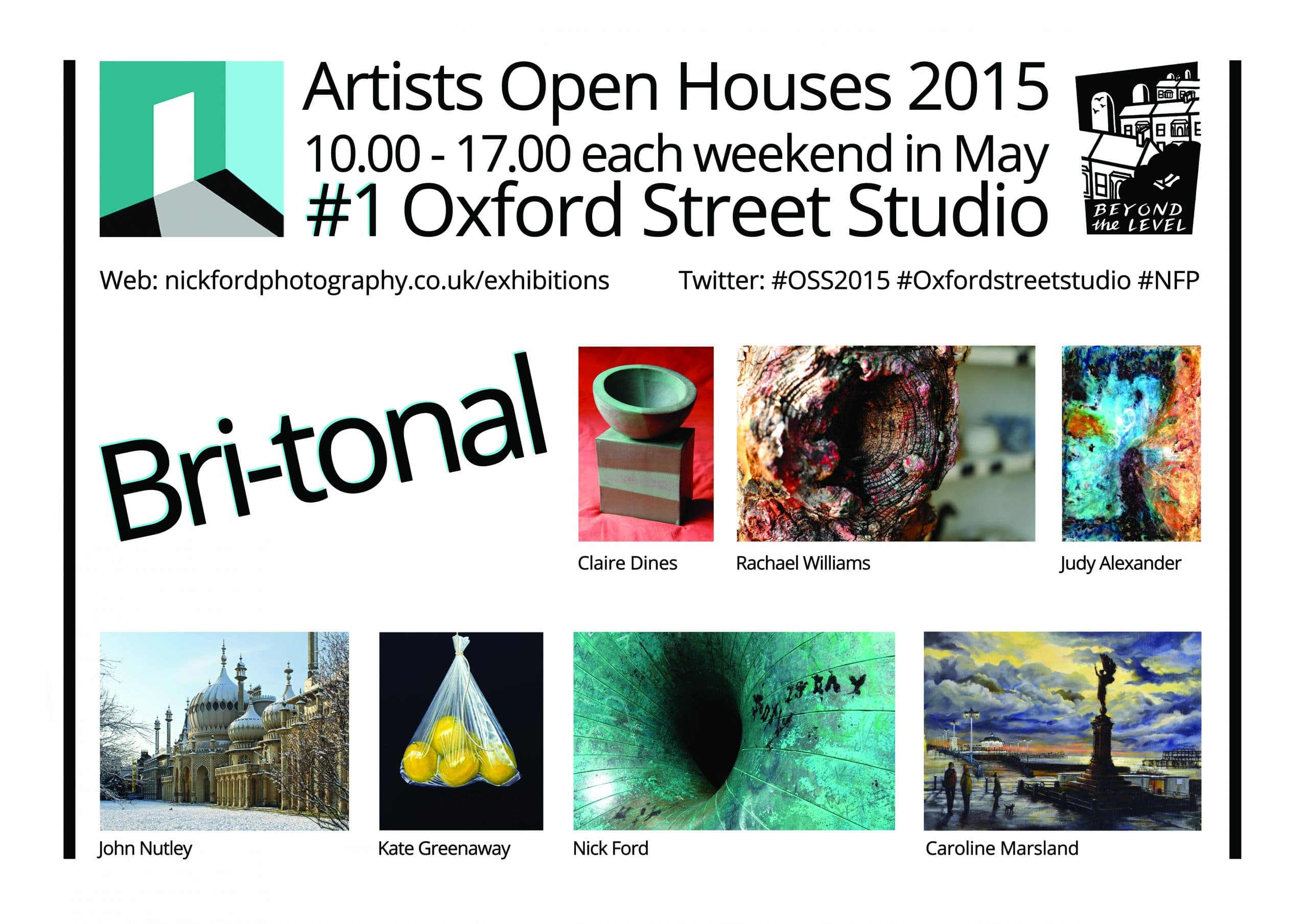 Artists Open House May 2015 Weekends of Brighton Festival