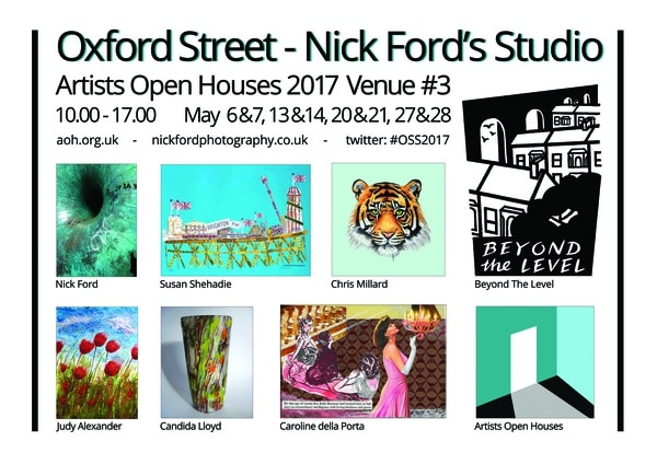 Artists Open House May 2017