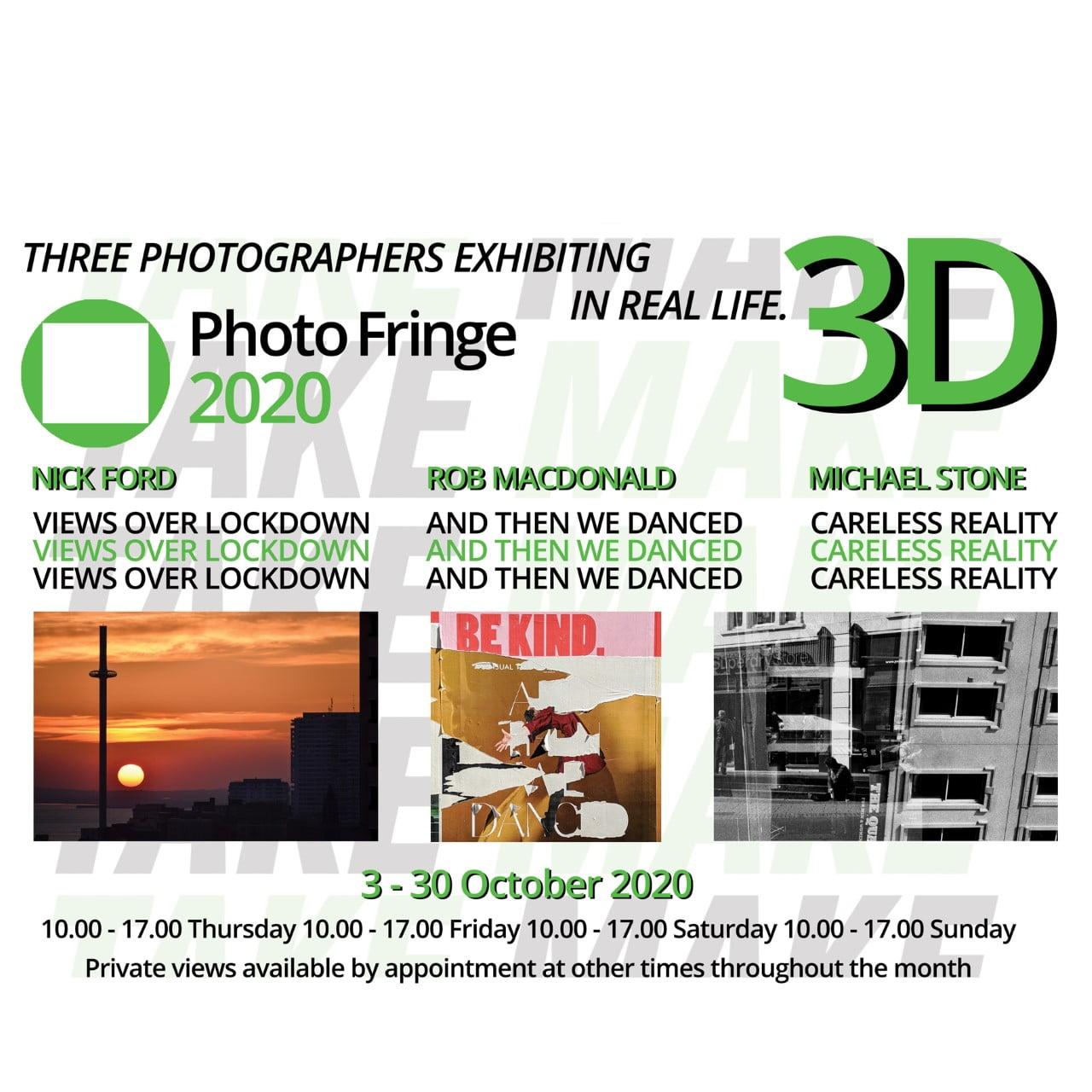 Photo Fringe 2020 – Exhibition '3D'